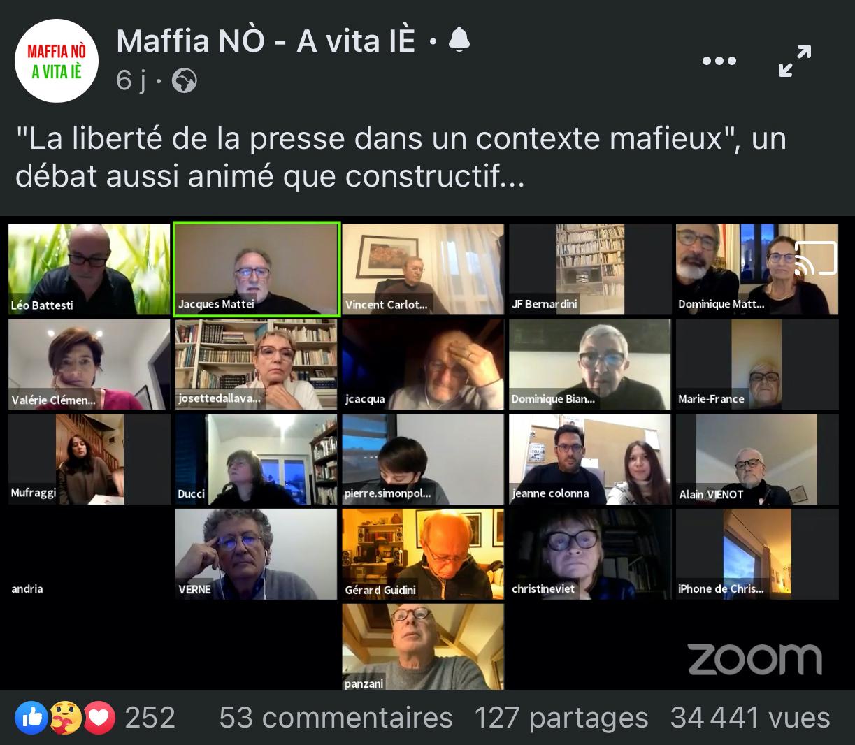 Des milliers de citoyens suivent les débats du Cullettivu !