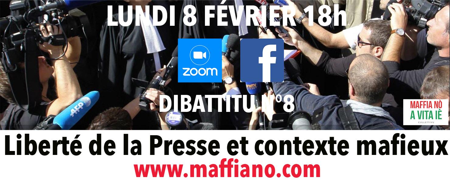 Dibattitu N°8 sur presse et pression mafieuse