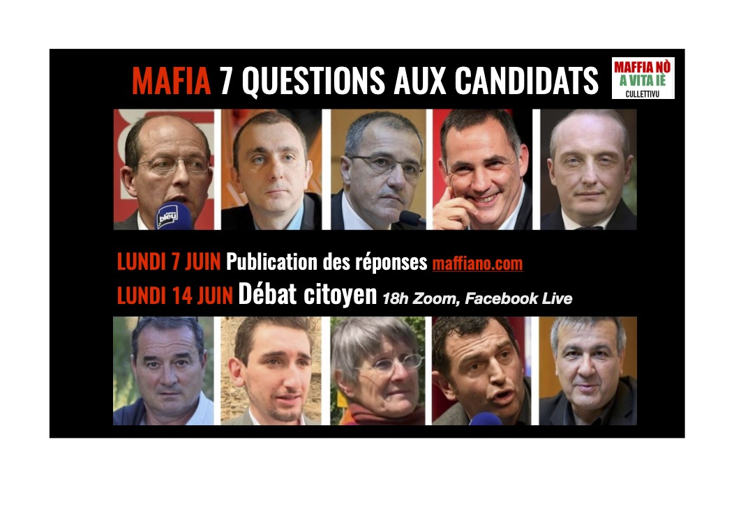 Dibattitu N° 10 : Réactions citoyennes aux réponses sur la mafia des candidats aux Territoriales