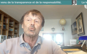 """N°3 Nicolas Hulot. : """"Votre démarche est exemplaire"""""""