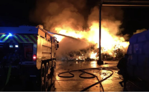 Incendie contre les locaux d'AM Environnement : l'escalade